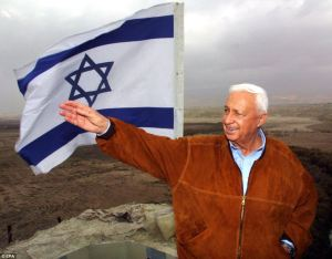 Ariel Sharon- Valle del Jordam