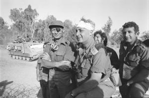 Ariel Sharon y Dayán