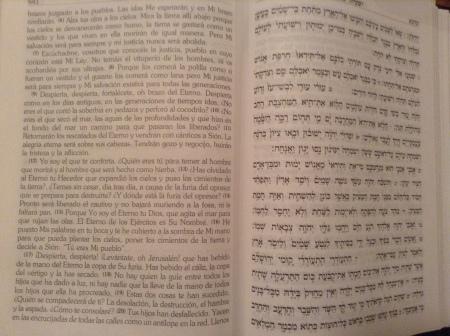 Isaías 51:7-23