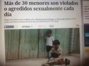 niños agredidos