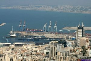 Puerto de Haifa, Israel