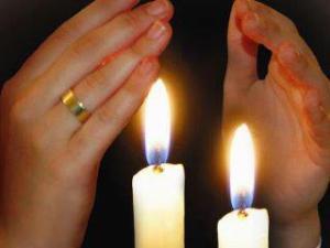 velas de shabat 1