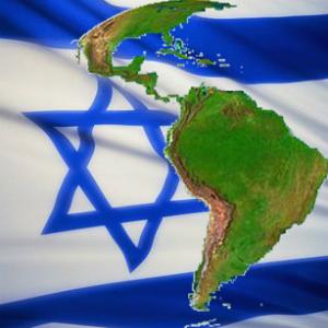 Bandera Israelí - mapa